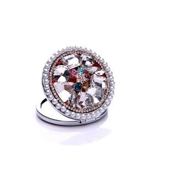 Con incrustaciones de lujo círculo diamante plegable adorno pequeño de dibujos animados - Página 2