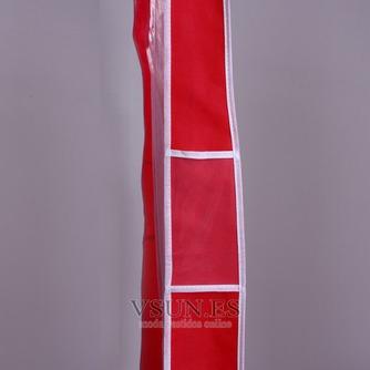 Boda vestido de guardapolvo rojo sólido a prueba de polvo cubierta guardapolvo - Página 3