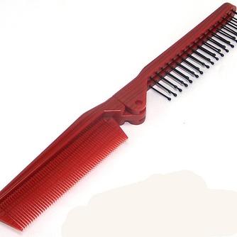 Grano rojo plegable multifunción portátil pequeño espejo y peine de madera - Página 3