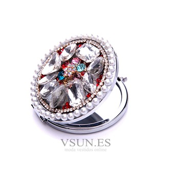 Con incrustaciones de lujo círculo diamante plegable adorno pequeño de dibujos animados - Página 4