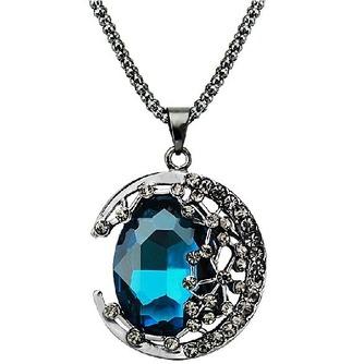 Collar mujer nuevo producto aleación joyería Retro collar y colgante de cristal - Página 1