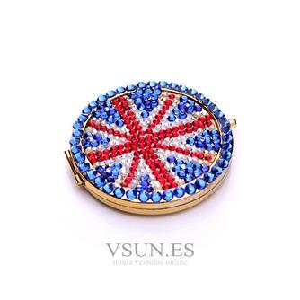 Bandera nacional por mayor portátil palabra bi-adhesiva con incrustaciones de diamante M adorno pequeño - Página 2