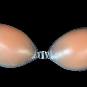 color de la piel Anti de realce de pecho vaciado reunidos Stealth Invisible bra - Página 5