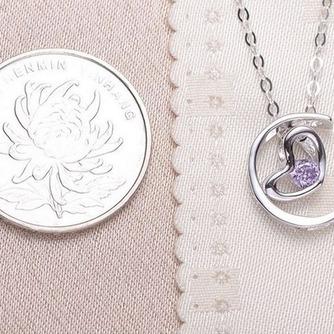Collar y colgante en forma de corazón chapado decoración caliente de la venta de plata - Página 5