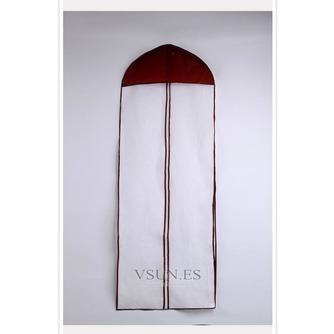 155 cm de largo solo cara borde púrpura transparente engrosamiento no tejidos - Página 1