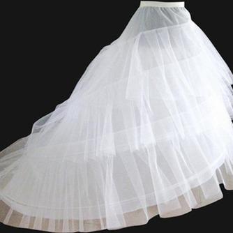 Rueda de elástico en la cintura dos moda que se arrastra la enagua del vestido de novia boda - Página 1
