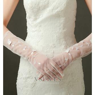 Guante de la boda Con lentejuelas sexy Otoño - Página 1