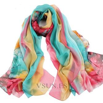 El nueva sombra protector solar impresión largo mantón de la bufanda - Página 2