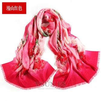 Collar de la bufanda de lana otoño e invierno para mantener a caliente joker mantón de la bufanda larga de manera - Página 11