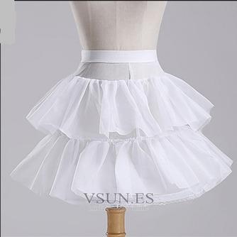 Enagua de la boda red fuerte de vestido corto moda cintura elástico - Página 3