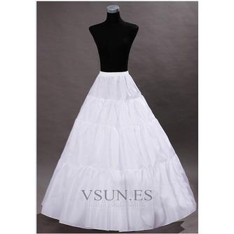 Vintage Vestido de boda estándar ancho elástico cintura boda enagua - Página 2
