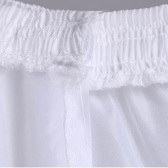 Cintura vestido lleno tres ruedas estándar nuevo estilo enagua de la boda - Página 3