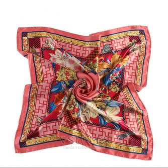 Comodín de moda nacional bufanda cuadrada pañuelo de seda restauración de antiguas formas - Página 4