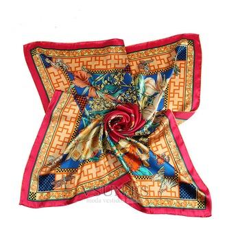 Comodín de moda nacional bufanda cuadrada pañuelo de seda restauración de antiguas formas - Página 6