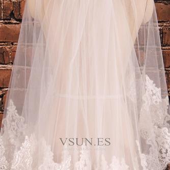 Velo de novia Verano Fuera de casa Moderno Encaje Diosa vestido de novia - Página 2