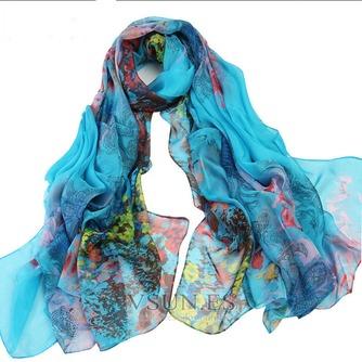 El nueva sombra protector solar impresión largo mantón de la bufanda - Página 5