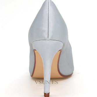 Zapatos de boda para mujer, boca baja, cabeza de pez, tacones altos, diamantes de imitación, zapatos individuales, sandalias de vestido de banquete de dama de honor - Página 9