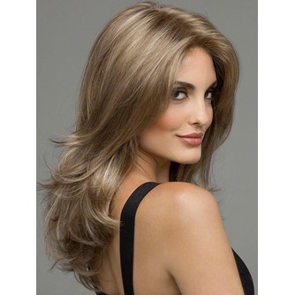 Rizado largo inclinado potro largo rizado adecuados para peluca de las mujeres - Página 2