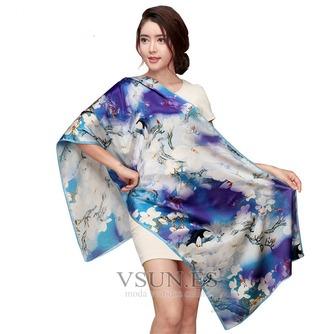 Bufanda de seda cálida bufanda de mulberry otoño invierno MS seda bufandas - Página 9
