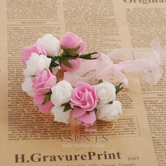 La doble corona de pelo accesorios de fotografía de corona de novia - Página 2