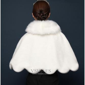 Cálido chal de novia de otoño e invierno chal de piel de zorro chal manto - Página 2