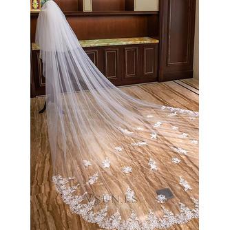 Velo de encaje de perlas velo de lujo de la catedral velo de novia velo - Página 4