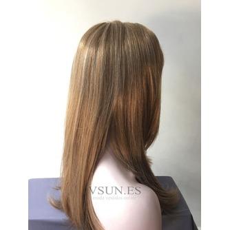 Oblicuo de pera amarillo pony todos adultos 45-50 CM peluca - Página 3