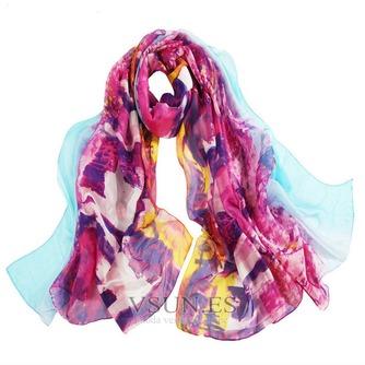 La nueva bufanda de seda de señora caliente medio alto grado - Página 7