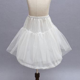 Niños blanco vestido muy fuerte red glamorosa boda frameless enagua - Página 1