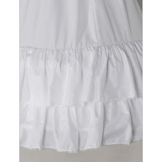 Perímetro de cintura elástico estándar boda vestido dos llantas enagua de la boda - Página 3