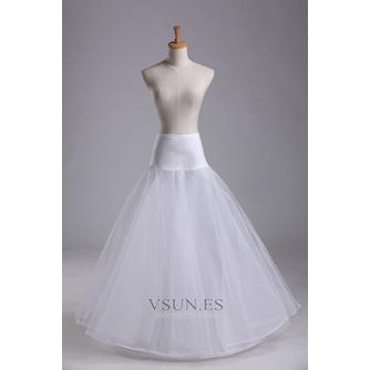 Enagua de moda novia de material elástico de cintura elástica de vestido de boda - Página 1