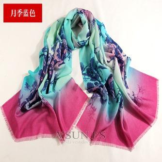 Collar de la bufanda de lana otoño e invierno para mantener a caliente joker mantón de la bufanda larga de manera - Página 8