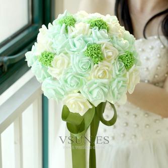 El estudio de novia ramo de novia mano accesorios bouquet - Página 1