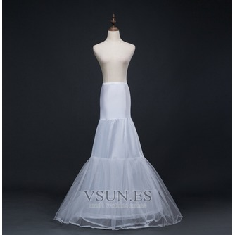 Boda vestido sirena corsé perímetro glamoroso spandex enaguas de boda - Página 1