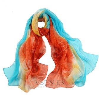 La nueva bufanda de seda de señora caliente medio alto grado - Página 4