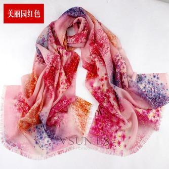 Collar de la bufanda de lana otoño e invierno para mantener a caliente joker mantón de la bufanda larga de manera - Página 6