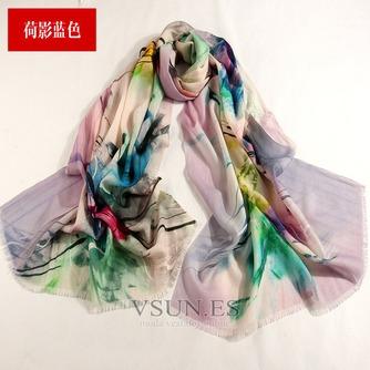 Collar de la bufanda de lana otoño e invierno para mantener a caliente joker mantón de la bufanda larga de manera - Página 9