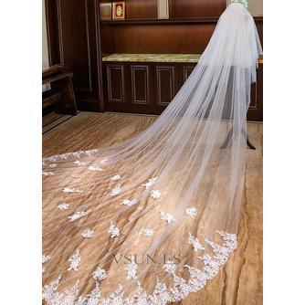 Velo de encaje de perlas velo de lujo de la catedral velo de novia velo - Página 2