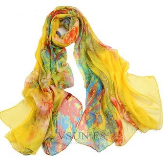 El nueva sombra protector solar impresión largo mantón de la bufanda - Página 3