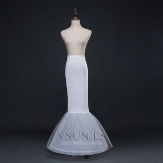 Nuevo estilo cintura elástico del spandex Vestido de boda boda enagua - Página 1