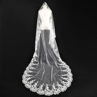Velo de novia Otoño Apliques Glamouroso Diosa vestido de novia - Página 1