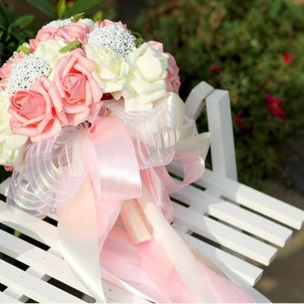 Aparato de simulación 30 hilado con las rosas del ramo de novia todo la estrella de cielo - Página 2