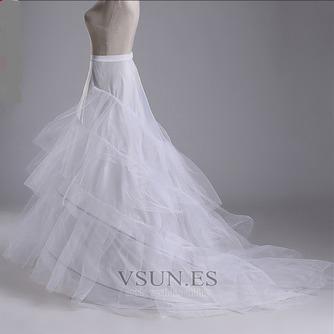 Enagua de la boda hilado doble de moda red fuerte de la sirena diámetro - Página 1