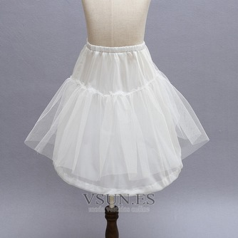Niños blanco vestido muy fuerte red glamorosa boda frameless enagua - Página 2