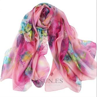 El nueva sombra protector solar impresión largo mantón de la bufanda - Página 1