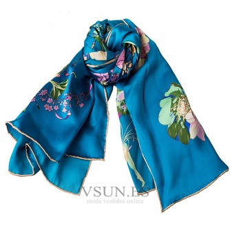 Comodín de moda bufanda de seda bufanda restaurar antiguos caminos - Página 3