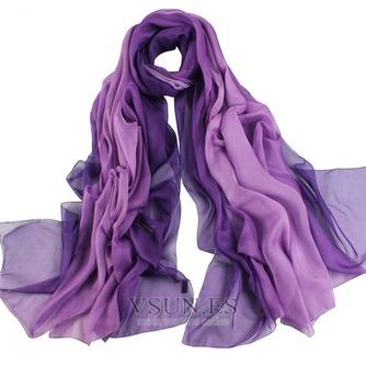 El nueva sombra protector solar impresión largo mantón de la bufanda - Página 6