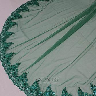 Velo de novia verde velo de novia musulmán velo de cara cubierta 3M - Página 5