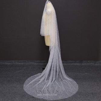 velo de perlas de lujo nupcial velo de perlas de boda velo de novia accesorios - Página 5