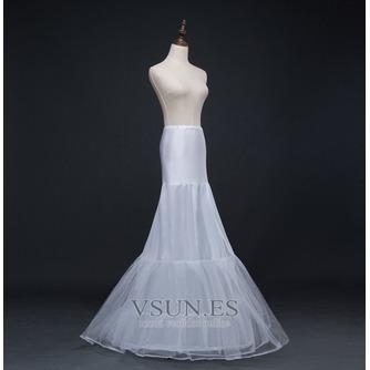 Boda vestido sirena corsé perímetro glamoroso spandex enaguas de boda - Página 2